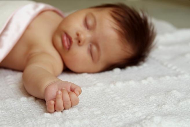 sleepng baby