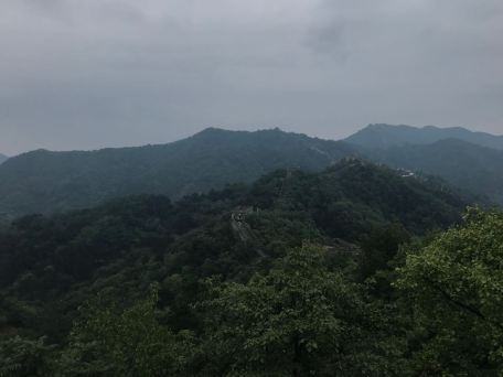 great wall nature view